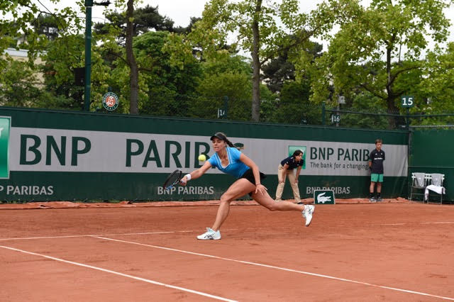 25 year-old Bulgarian, Viktoria Tomova (currently ranked 132nd) participated in the qualifying round at Roland Garros.