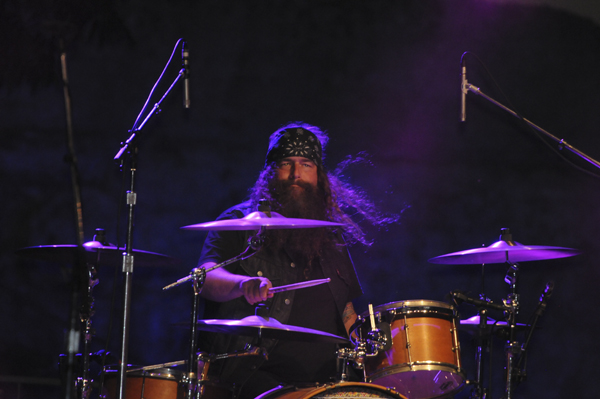 Brit Turner of Blackberry Smoke