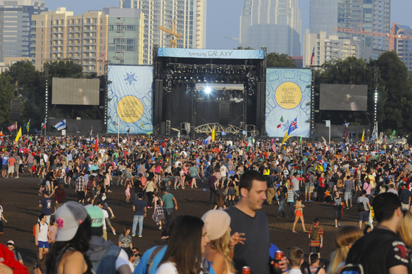 Austin City Limits Festival set on 46 acres in Zilker Park